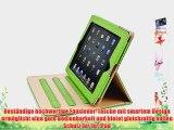 JAMMYLIZARD | Ledertasche Smart Case f?r iPad Air 2013 (5. Generation) GR?N