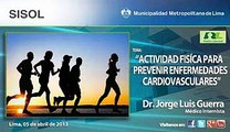 """Actividad física para prevenir enfermedades cardiovasculares""/Dr.Jorge Guerra.  Radio Libertad"
