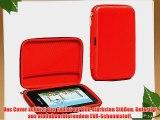 Navitech Rot Schutz Case Cover Sleeve f?r das Kurio Pocket (wie bei Toys'R'Us)