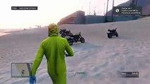 GTA V ONLINE ''DLC HEISTS'' - Nueva MOTO con NITRO!! ''NOS'' Moto Lectro como usar NITRO - GTA 5