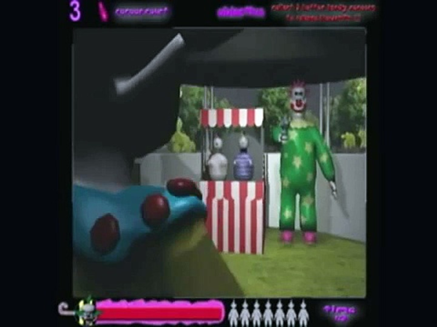 Killer Klowns From Outer Space - The Video Game : Send In The Klowns_Demo_Video_Capstone_Team_A.I