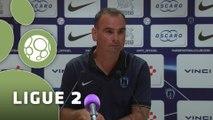 Conférence de presse Paris FC - Stade Lavallois (1-1) : Denis RENAUD (PFC) - Denis ZANKO (LAVAL) - 2015/2016