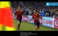 HD | España 4 - 0 Italia | España campeona de la Eurocopa 2012 | 1/07/2012 | Todos los goles