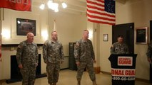 Ceremony: Soldier Promoted to 1st Sergeant