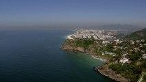 """Aerial view of """"Barra da Tijuca"""", Rio de Janeiro"""