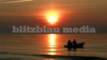 Stock Footage Europe Germany Baltic Sea Sunset Ostsee Sonnenuntergang Nature Beach Travel HD