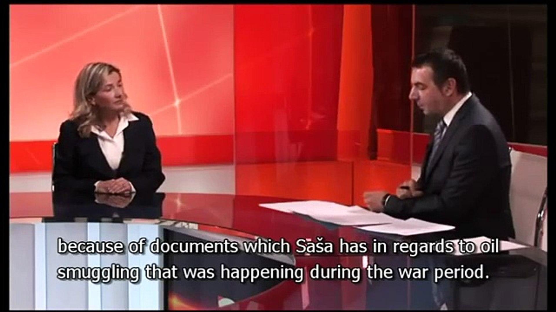 Nataša Srdoč about a political prisoner Saša Radović