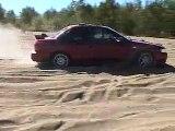 Subaru Impreza 2.5 Rs 2001 Sand Dune Riding in Québec