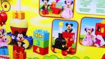 Mickey Mouse Clubhouse NEW Lego Duplo Birthday Parade Minnie Mouse Birthday Party + Surprise Toys