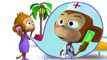 Children's Cool Songs Cartoons - Five Little Monkeys! - Kids Music & Nursery Rhymes