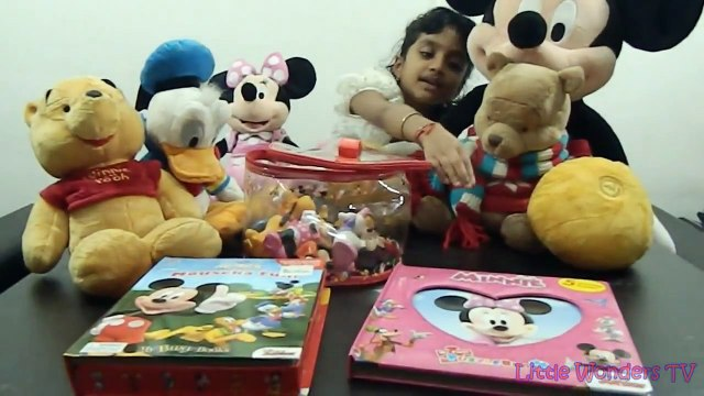 Surprise Toys Mickey Mouse Clubhouse Minnie Mouse Donald Duck Goofy Shopkins Advent Calend
