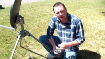 10. Fine Tuning the Dish - TR-6100 Winegard Portable Satellite Dish & Tripod Kit