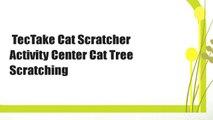 TecTake Cat Scratcher Activity Center Cat Tree Scratching