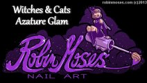 3 Nail Art Tutorials   DIY Halloween Nails   Cat & Witch