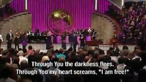 Lakewood Church Worship - 3/11/12 8:30am -  I Am Free w/ Exhortation by Pastor Victoria Osteen
