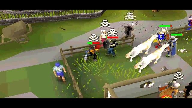 I Pk Mods I - Runescape PvP Video 9 - Morrigans/AGS/BGS/Statius Hammer/Sarasword/Dragon Claws