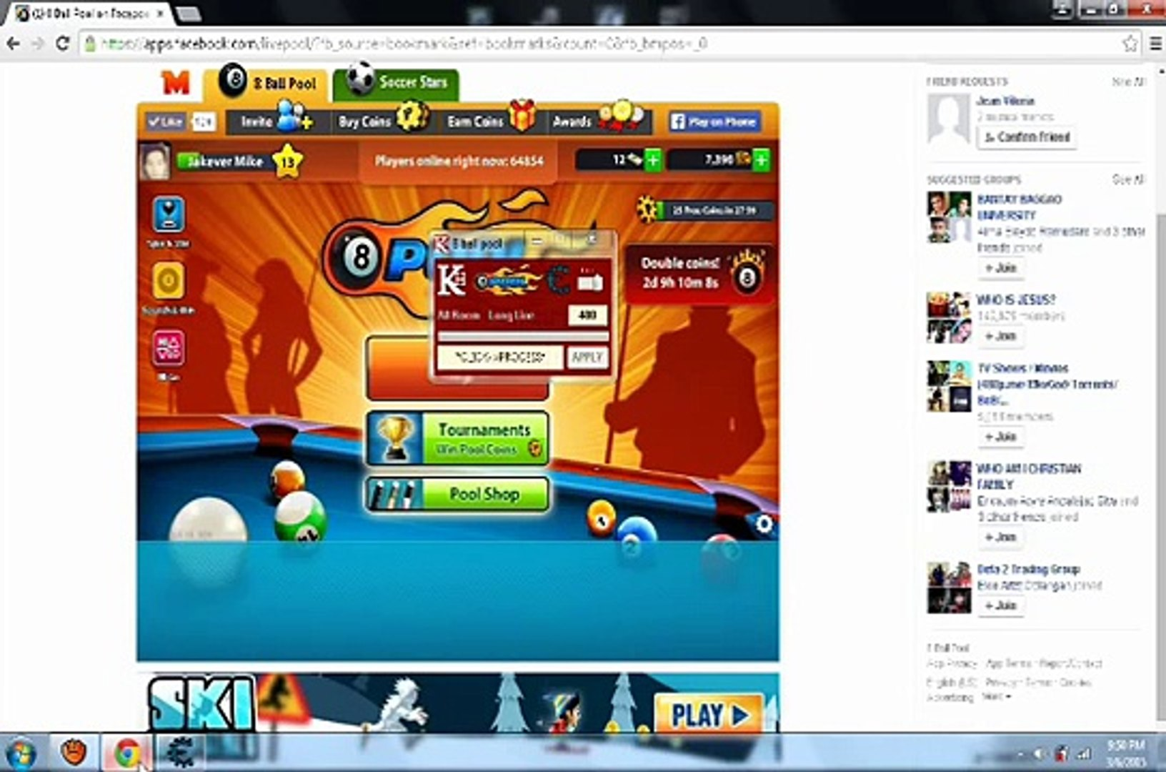 8 Ball Pool Long Line Hack - Using Cheat Engine 6 4 -2015