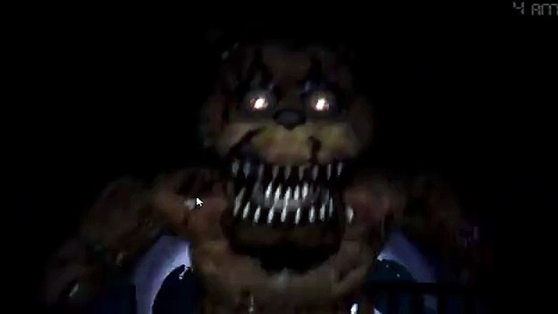 Five Nights At Freddy S 4 All Jumpscares Fnaf 4 Video Dailymotion