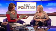 Gay marriage, Iain Dale vs Nadine Dorries (30Oct12)