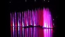 """The dancing fountains """"With love to the sea"""" Танцующие фонтаны  С любовью к морю."""