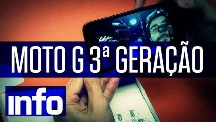 Hands-on: Moto G terceira geração