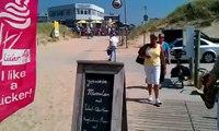 Bergen Aan Zee, Holland, Netherlands.  August 2, 2011