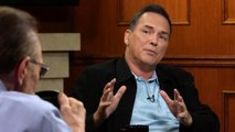 Norm Macdonald Didn't Plan To Tear Up On Letterman