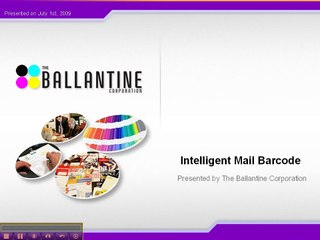 Intelligent Mail Barcode Resource   Learn About, Share and
