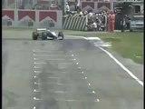 Formel1 Mika Häkkinen Crash Imola 1999