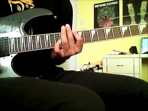 Refused – Elektra guitar tutorial