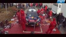 Test Loeb Citroën DS3 WRC Monte-Carlo rally 2012