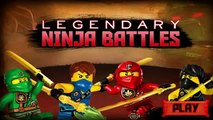 Cartoon Network Games: Lego Ninjago - Legendary Ninja Battles [Full Gameplay]