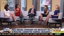 Harris Faulkner: Obama says CHRISTIAN Crusades, Why Can't He Say Radical ISLAM?
