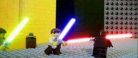 Lego star wars - Darth maul vs Qui gon & Obi wan