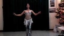 Ho Lan belly dance drum solo - my choreography  múa bụng Việt Nam