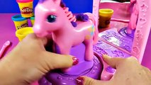 Play Doh MLP Pinkie Pie Pretty Parlor DisneyCarToys MAKEOVER Play-Dough My Little Pony Pinkie Pie
