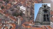 Petit vol au-dessus de la cité des cinq clochers