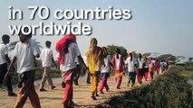 Walking to demand change - The World Walks for Water & Sanitation
