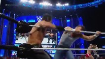 WWE Dean Ambrose & Cesaro vs Seth Rollins & Kevin Owens SmackDown July 30 2015 On Fantastic Videos