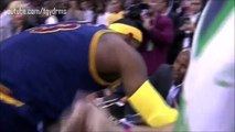 LeBron James first Chalk Toss ! Cleveland Cavaliers Return 2014