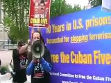 """Five Arrested at the White House Re: """"Free the Cuban Five"""" Protest"""