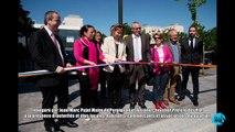 Inauguration du centre commercial Clodion au Bas-Vernet 2015