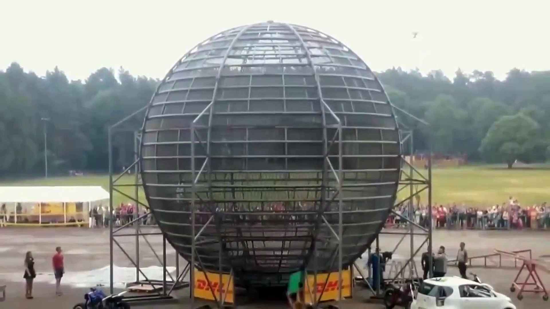 The ball of death/Шар смерти