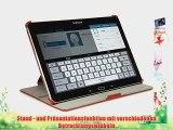 StilGut UltraSlim Case V2 Tasche mit Stand- und Pr?sentationsfunktion f?r Samsung Galaxy NotePRO