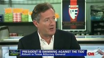Piers Morgan Tonight, Piers Goes to the Shooting Range and Sits Down with Ted Nugent - Feb 4, 2013