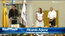 Discurso Ricardo Arjona en la Inauguración de la Escuela Adentro - Nohemí Morales de Arjona