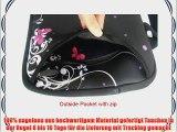 modisch 9.7 10 10.1 10.2 Zoll Laptop Netbook mit Schulterriemen Handgriff-Beutel-Kasten-Abdeckung