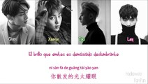 EXO - Transformer (变形女) Chinese Version [ Sub Español / PinYin/Chinese] (Color Coded)
