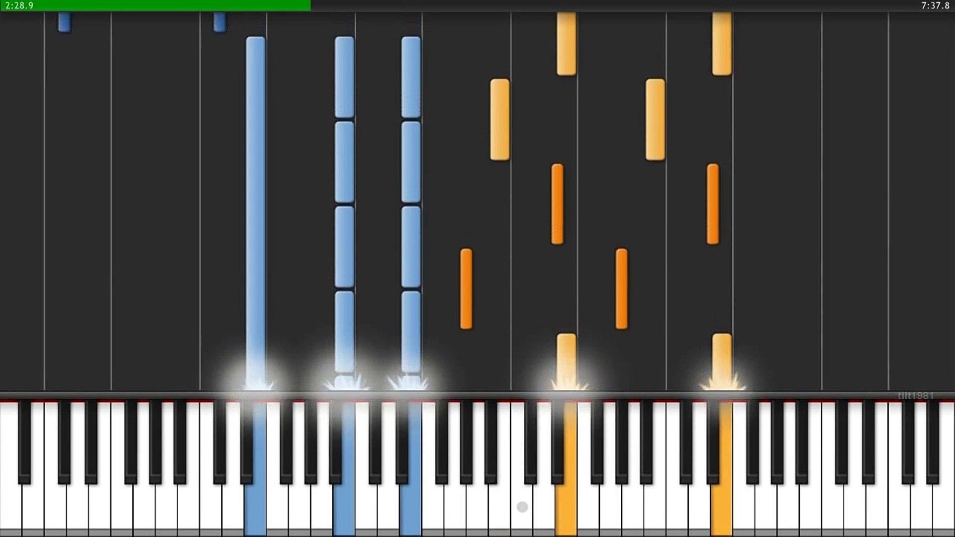 Deadmau5 strobe (intro) (piano cover) (sheet music and midi.