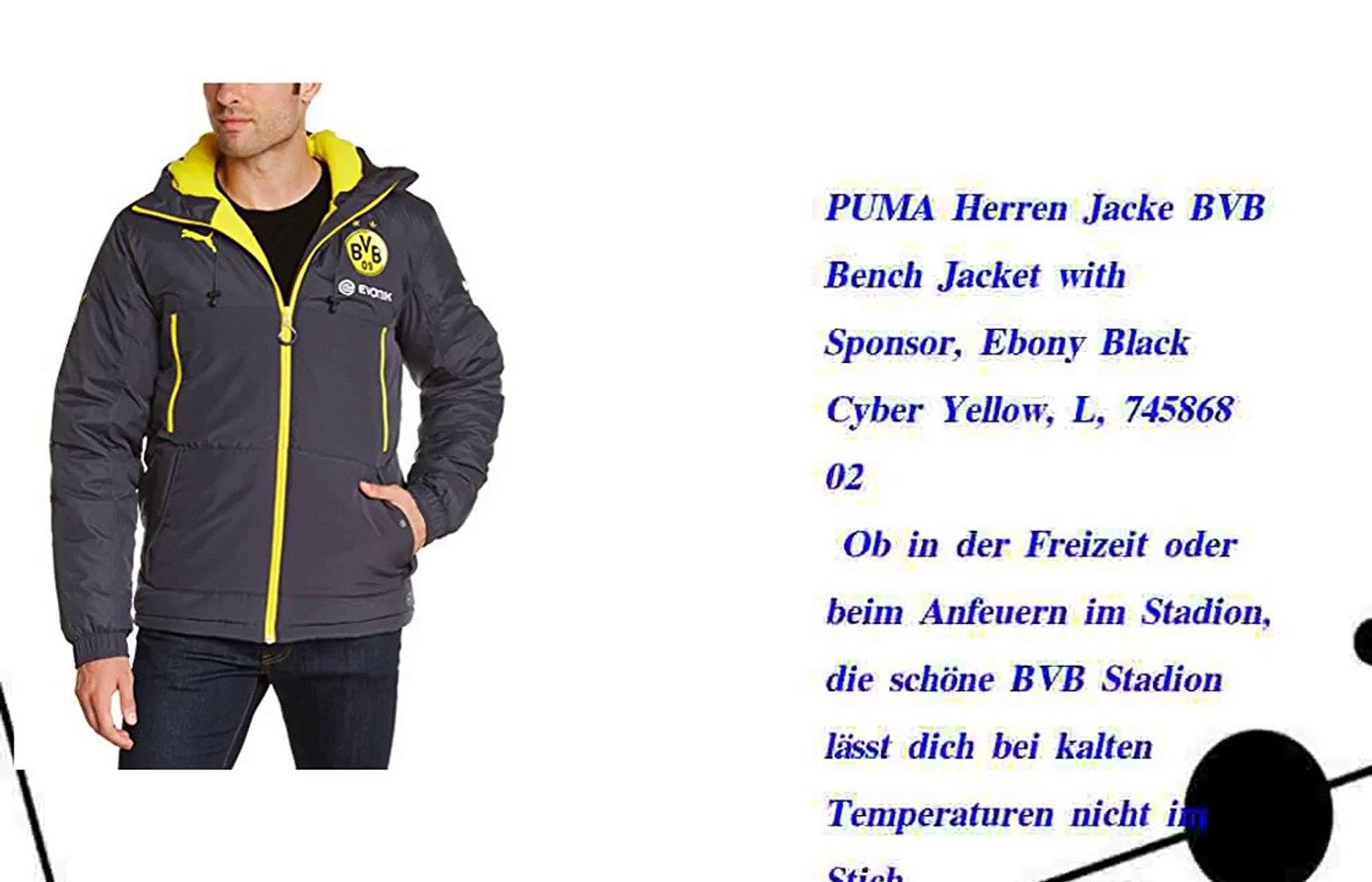 PUMA Herren Jacke BVB Bench